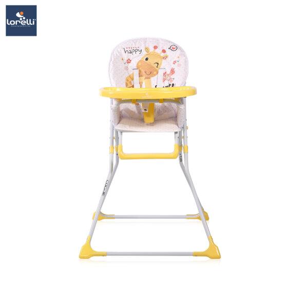 Lorelli - Столче за хранене COOKIE  YELLOW GIRAFFE 10100242035