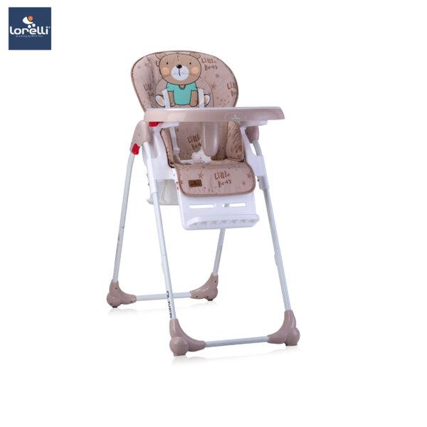 Lorelli - Столче за хранене OLIVER BEIGE BEAR 10100252024