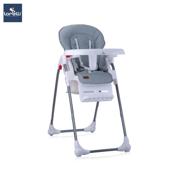 Lorelli - Столче за хранене OLIVER GREY ЕКО КОЖА 10100252029