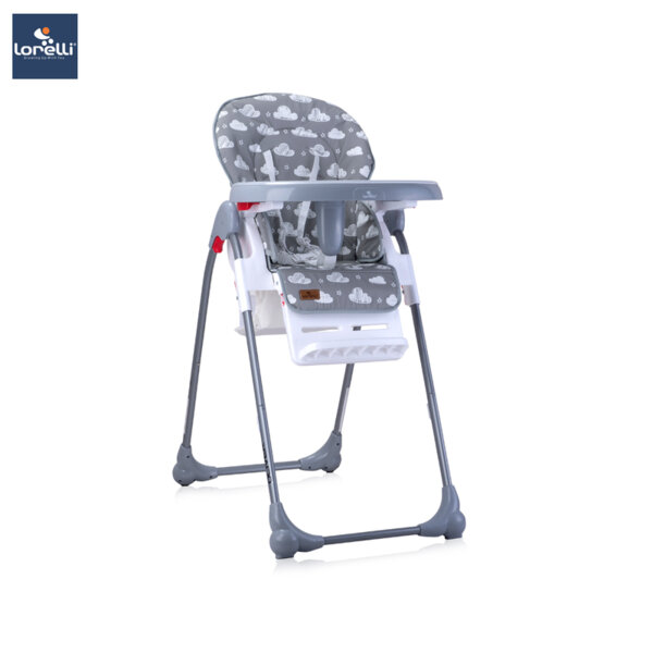 Lorelli - Столче за хранене OLIVER GREY STARS&CLOUDS 10100252030