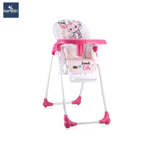 Lorelli - Столче за хранене OLIVER PINK CAT 10100252031