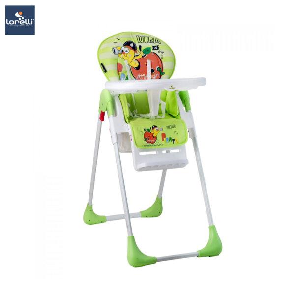 Lorelli - Столче за хранене TUTTI FRUTTI GREEN WORM 10100261926