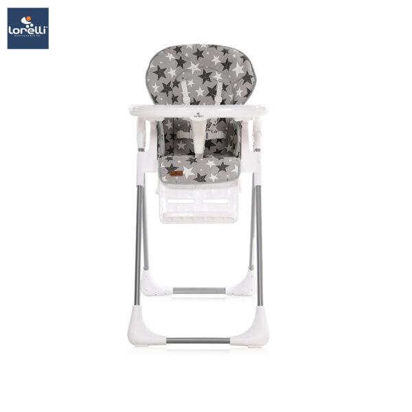 Lorelli - Столче за хранене TUTTI FRUTTI GREY STARS 10100262015