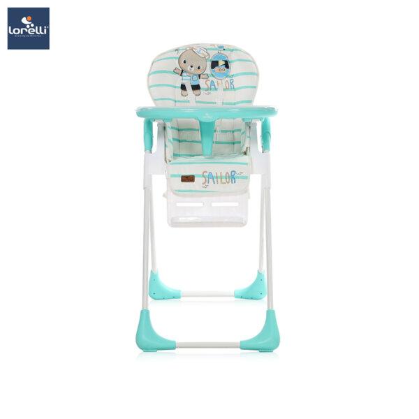 Lorelli - Столче за хранене TUTTI FRUTTI AQUAMARINE SAILOR 10100262032
