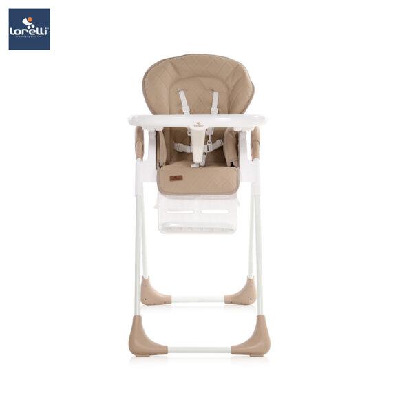 Lorelli - Столче за хранене TUTTI FRUTTI BEIGE ЕКО КОЖА 10100262037