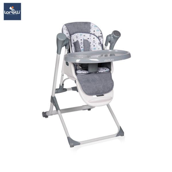Lorelli - Столче за хранене VENTURA GREY 10100301901