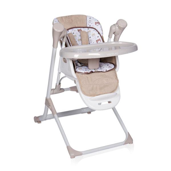 Lorelli - Столче за хранене VENTURA BEIGE 10100301902
