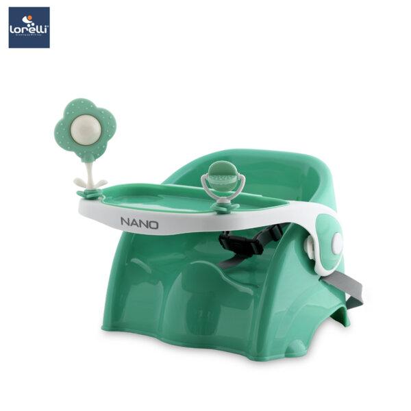Lorelli - Столче за хранене NANO - зелено 10100350001