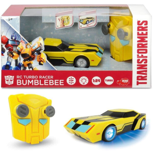 Dickie Transformers Bumblebee Автомобил с дистанционно управление 203114009