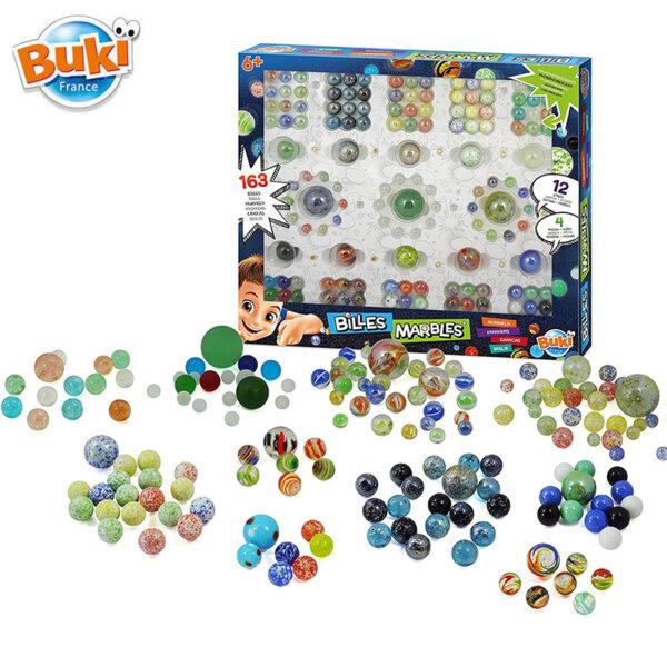 Buki Комплект стъклени топчета Marble BKPM855