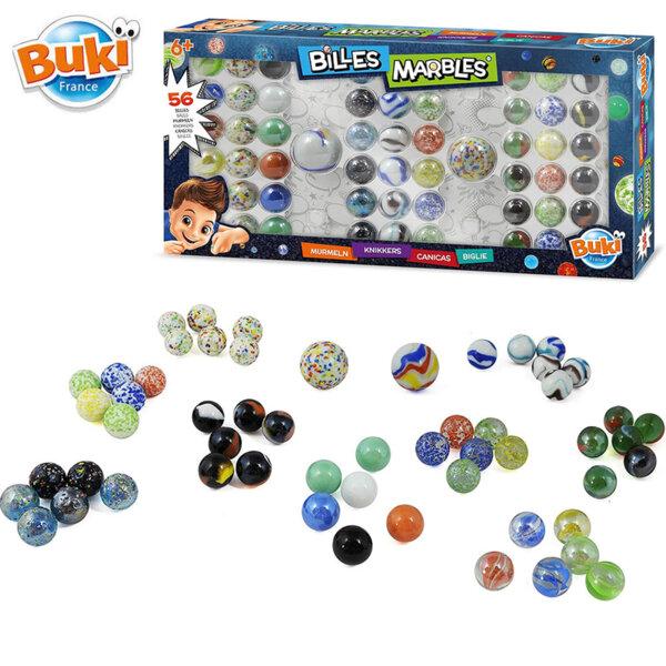 Buki Комплект стъклени топчета Marble BKPM856
