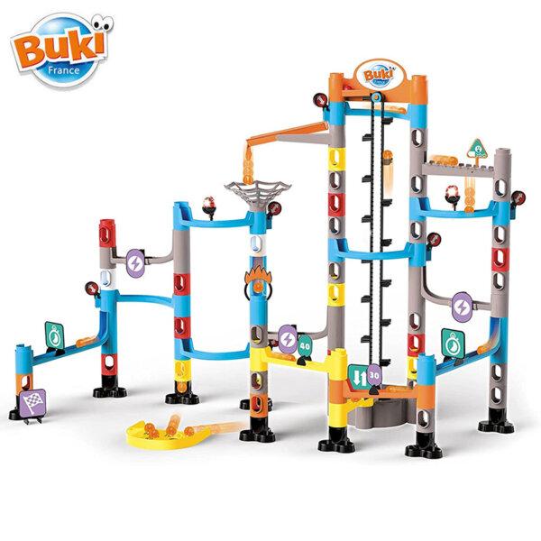 Buki Писта с мраморни топчета със звук и светлина Marble Runs BKPM852