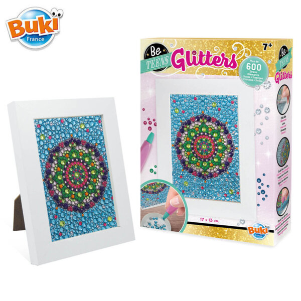 Buki Be Teens Блестяща мозайка Мандала BKDP007