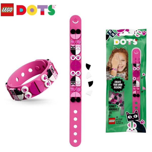 Lego 41901 Dots Гривна със забавни животни