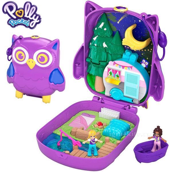 Polly Pocket Комплект за игра Светът на Поли Бухал FRY35