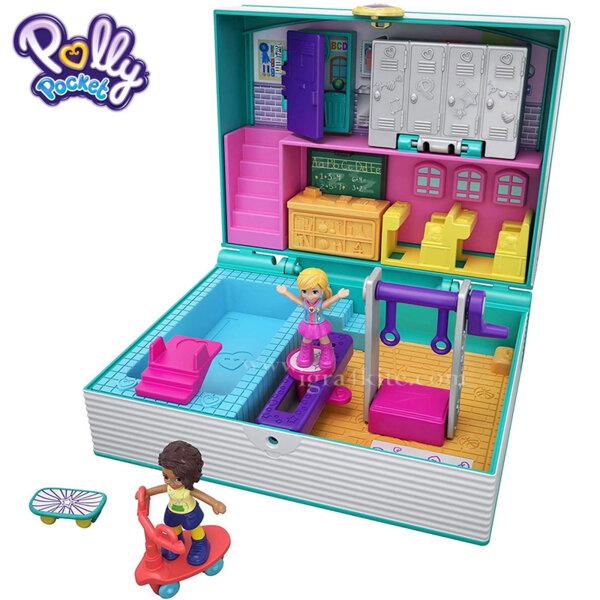 Polly Pocket Комплект за игра Светът на Поли Училище FRY35