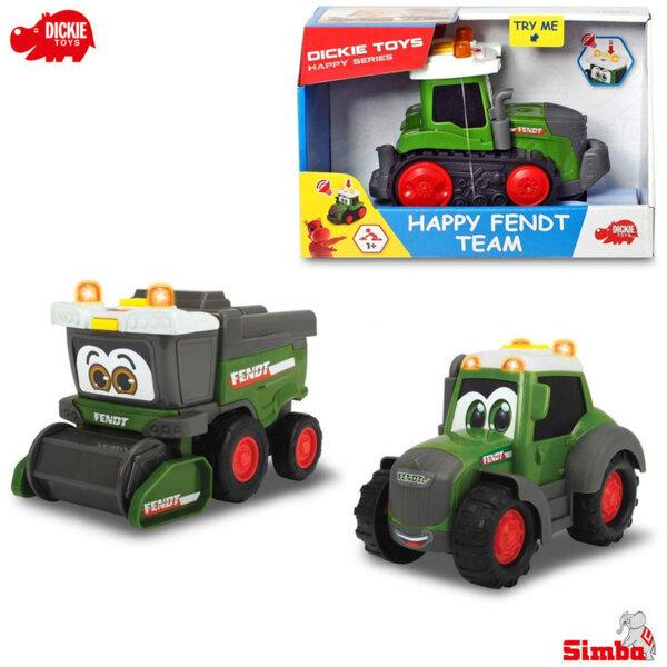 Simba Dickie Трактор със звук и светлина Happy Fendt, асортимент 203812005