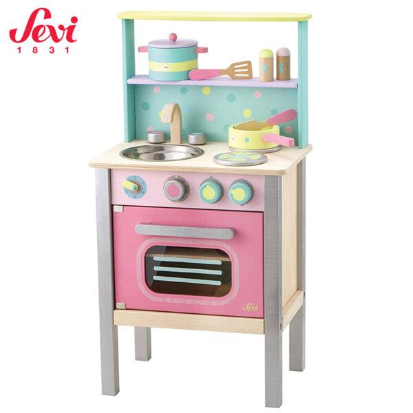 Sevi Дървена кухня с аксесоари 82985