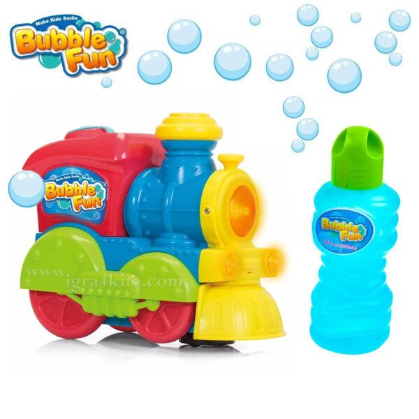 Bubble Fun Машина за сапунени балони Локомотив BB10251