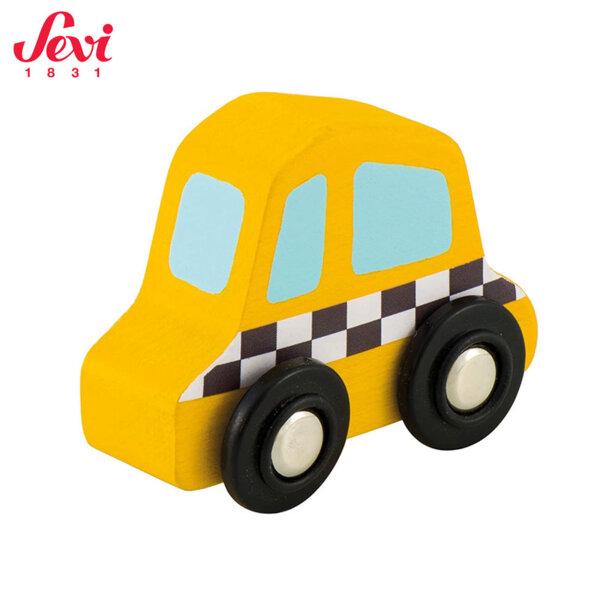 Sevi Дървена мини количка такси 82905