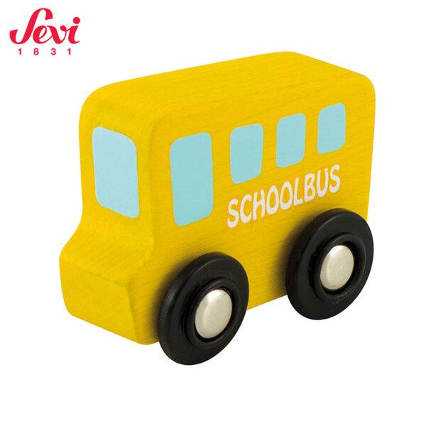 Sevi Дървен мини училищен автобус 82906
