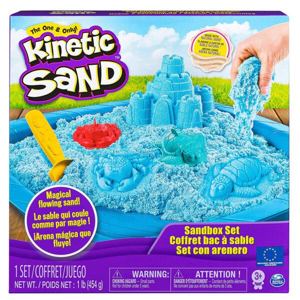Spin Master Kinetic Sand Кинетичен пясък Замък, син 6024397