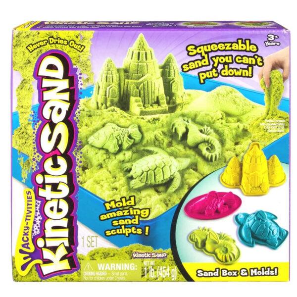 Spin Master Kinetic Sand Кинетичен пясък Замък, зелен 6024397