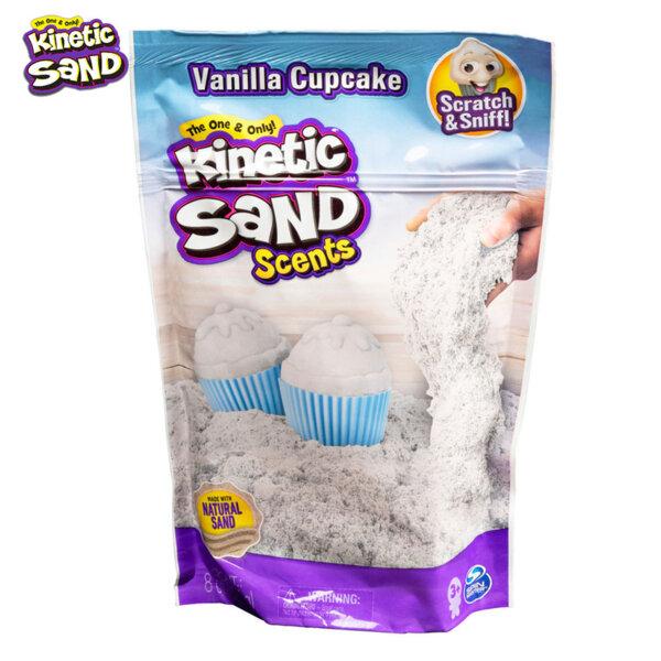 Spin Master Kinetic Sand Ароматен кинетичен пясък Ванилов къпкейк 6053900