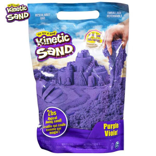 Spin Master Kinetic Sand Кинетичен пясък в пликче, лилав 6047184
