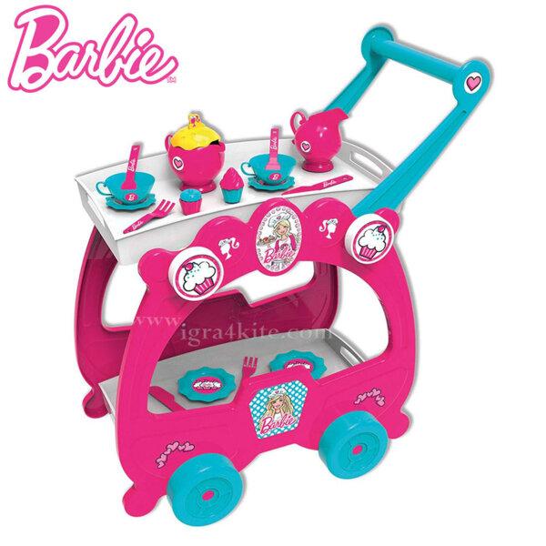 Barbie Детска количка за сервиране 2 в 1 Барби 2973