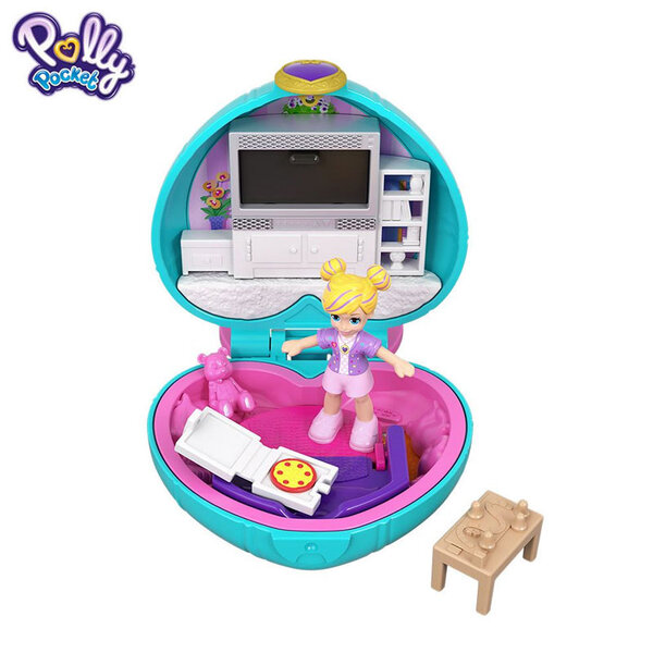 Polly Pocket Комплект за игра с мини кукла Светът на Поли GCD62