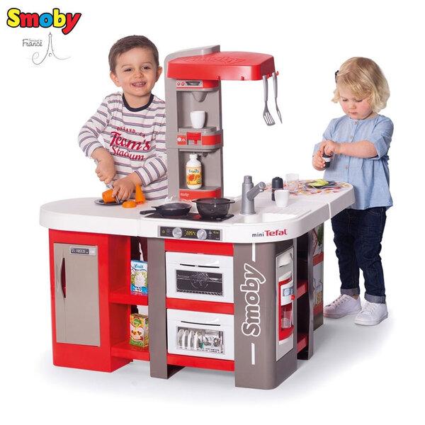 Smoby Детска кухня mini Tefal с 39 аксесоара, звук и светлини Studio Bubble XXL 311046