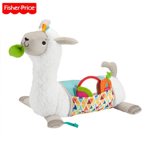 Fisher Price Плюшена лама с активности Grow with Me FXC36
