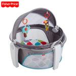 Fisher Price Мобилна бебешка кошара Travel Playpen FWX16