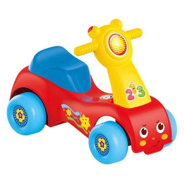 Бебешки скутер за бутане с крачета 123