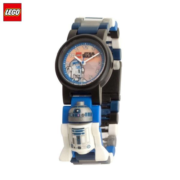 LEGO - Детски ръчен часовник Star Wars R2D2 8021490