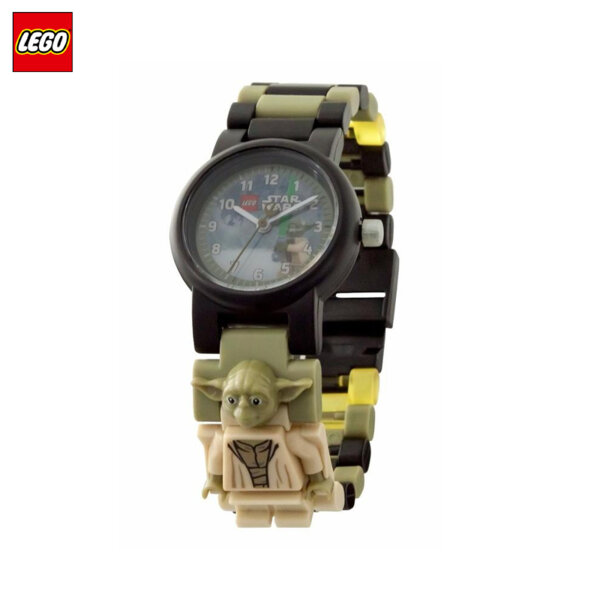 LEGO - Детски ръчен часовник Star Wars Yoda 8021032