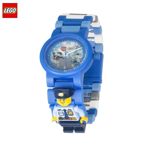 LEGO - Детски ръчен часовник City полицай 8021193