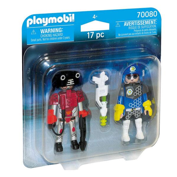 Playmobil Фигурки с аксесоари Космически полицай и крадец 70080