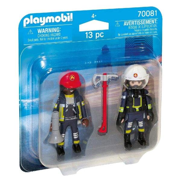 Playmobil Фигурки с аксесоари Пожарникари 70081