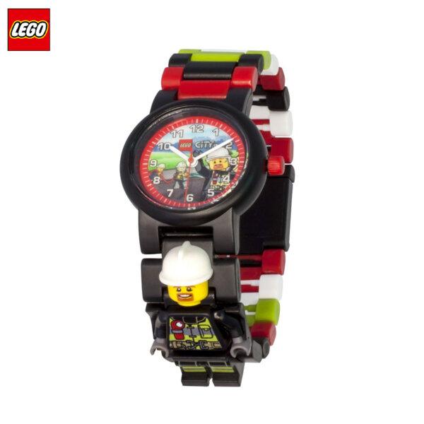 LEGO - Детски ръчен часовник City пожарникар 8021209