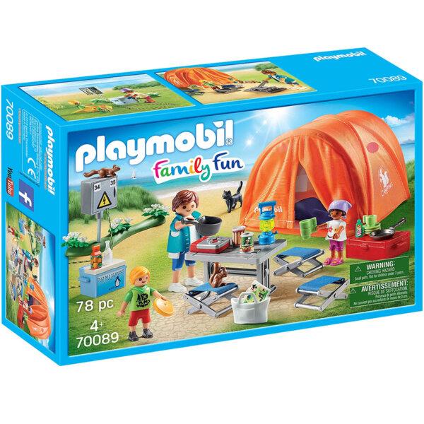 Playmobil Семеен къмпинг 70089