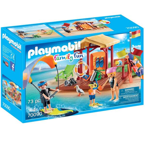 Playmobil Урок по водни спортове 70090
