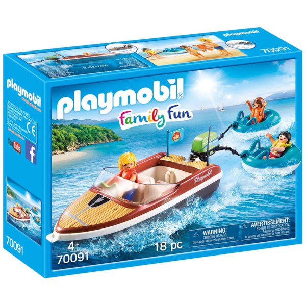 Playmobil Моторна лодка 70091