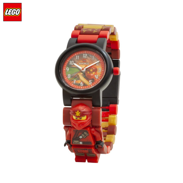 LEGO - Детски ръчен часовник Ninjago Kai 8021643