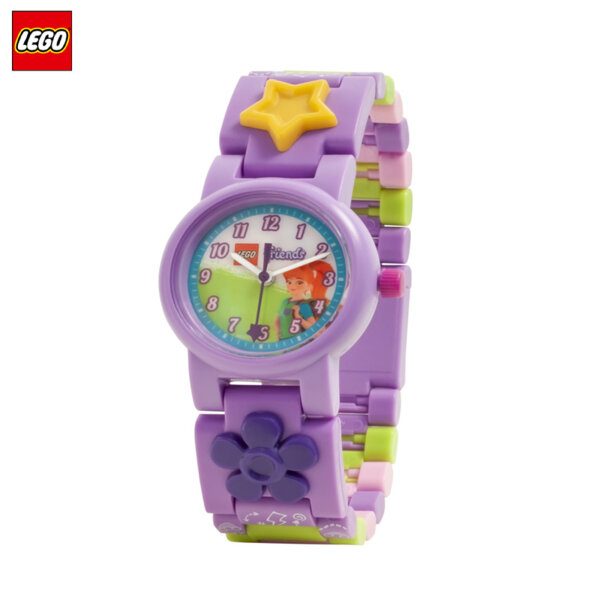 LEGO - Детски ръчен часовник Friends Mia 8021230