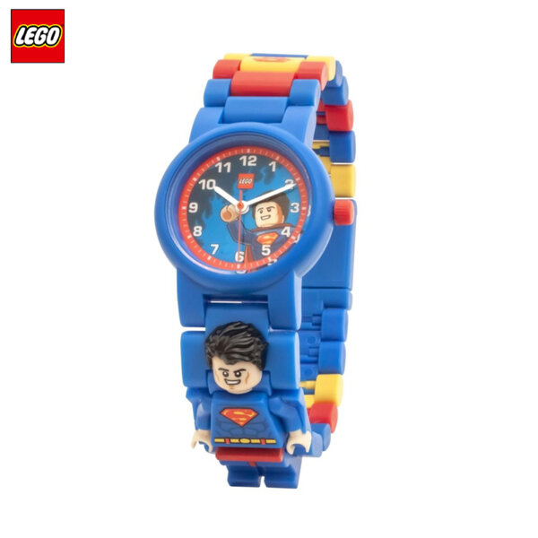 LEGO - Детски ръчен часовник Superman 8021575