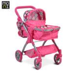 Moni Детска количка за кукли Vicky Pink 9620