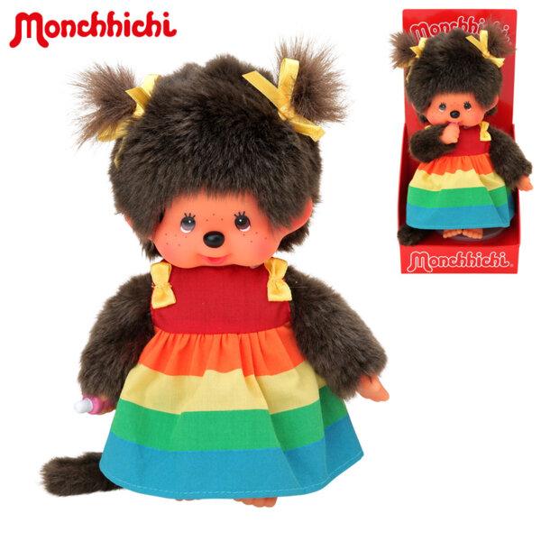 Monchhichi Плюшена маймунка Rainbow girl 20см 220977