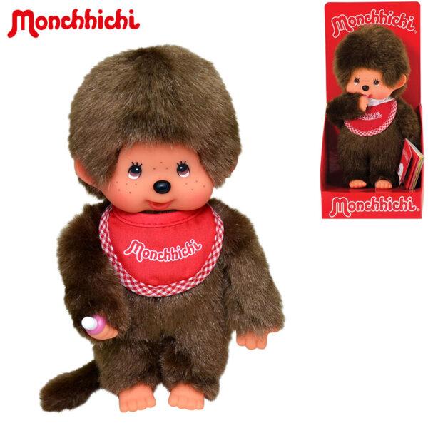 Monchhichi Плюшена маймунка Classic Boy Red 20см 255010